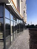 Стоечно-ригельная система остекления фасада KMD F50, фото 8
