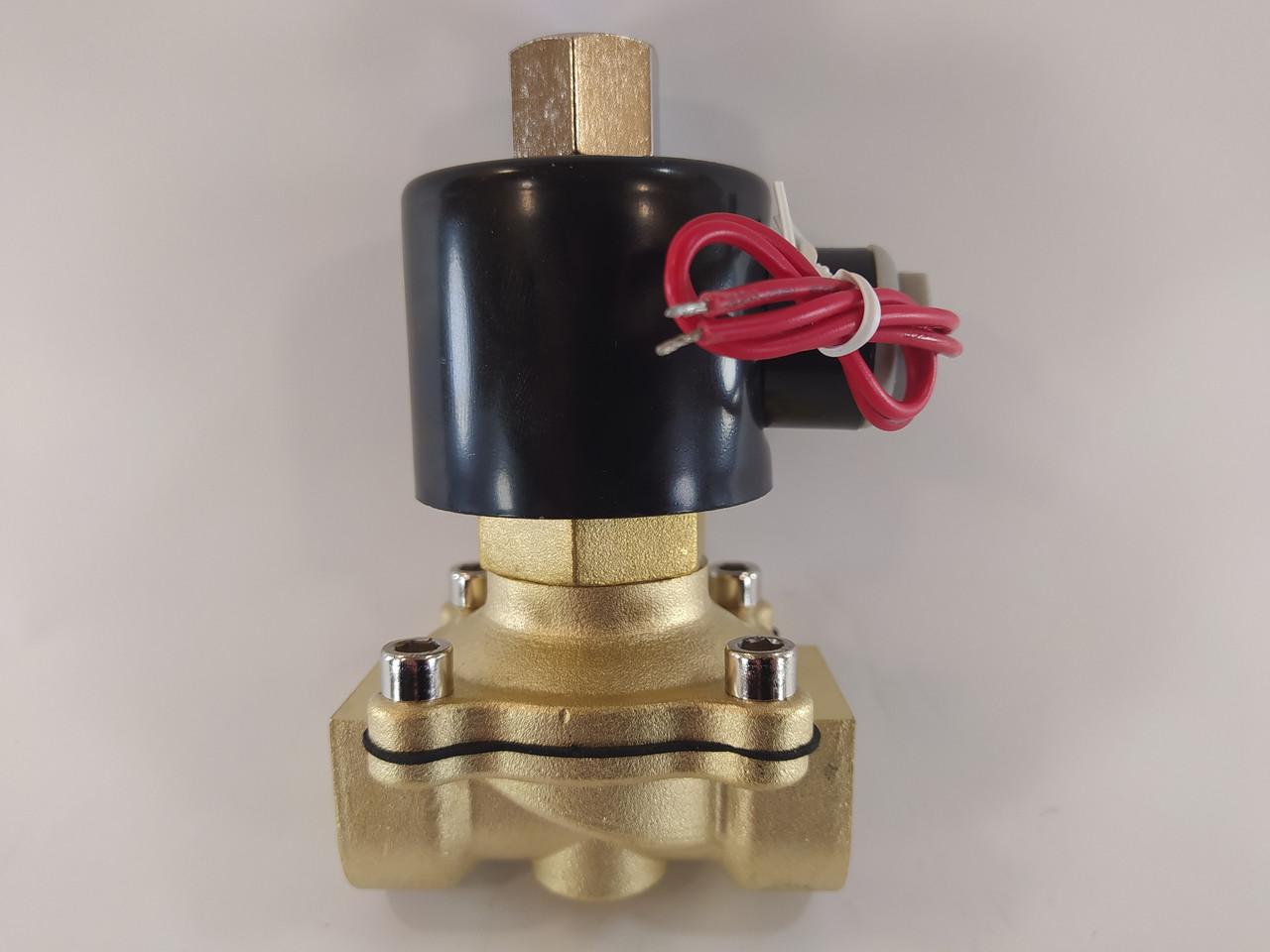 """Електромагнітний клапан 3/4"""" 220В нормально-відкритий"""