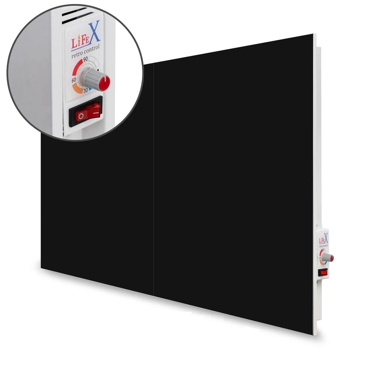 Керамическая панель LIFEX 1400 Вт Bio-air (черная) механика
