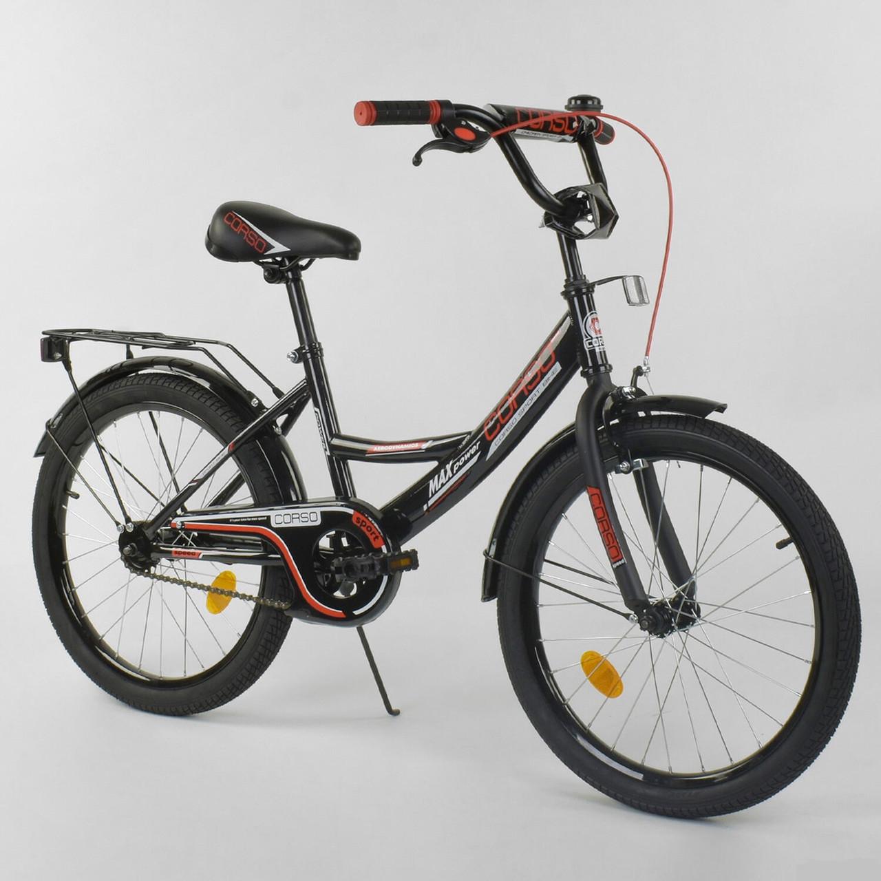 """Велосипед 20"""" дюймов 2-х колёсный """"CORSO"""" CL-20 Y 3230"""