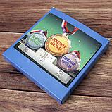 Медаль подарочная Справжньому козаку укр, фото 2