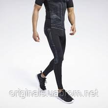 Компрессионные мужские тайтсы Reebok Printed FS8583 2020/2