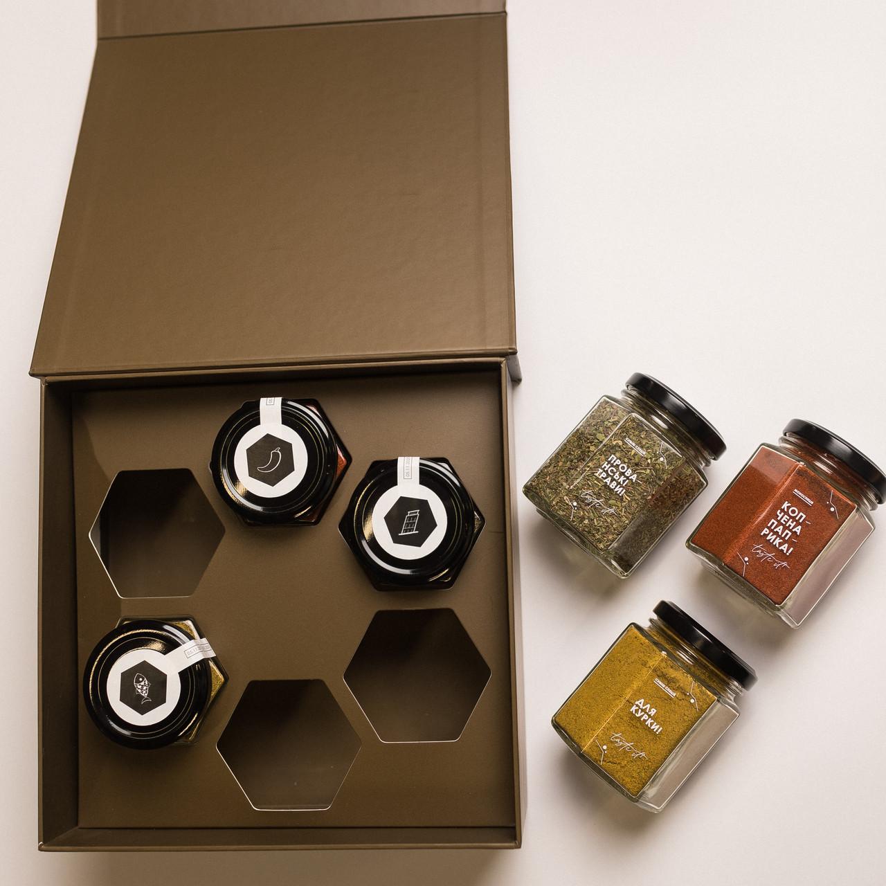 Подарочный набор The Spicebox / Премиум Spice 1 (Набор специй)