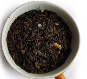 Чай зеленый рассыпной листовой зеленый чай Шоколадная Феерия 50 г