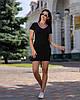 Спортивное платье трикотажное Мини, фото 4