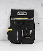 "Сумка поясная для инструмента, полиэстер, (235x332x75мм) ""Basic Tool Pouch"" STANLEY 1-96-181."