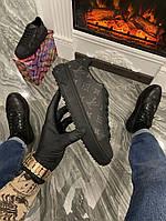 Кроссовки Louis Vuitton Sneakers Black (Черный) Луи Витон Кеды