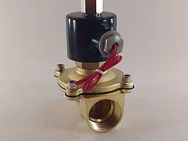 """Электромагнитный клапан 1"""" 220В нормально-открытый"""