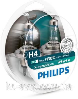 Автолампа галогенова H4 X-TREMEVISION PRO130 - НА 130%