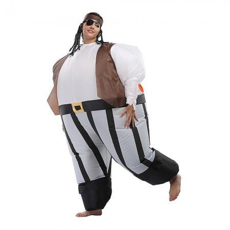Надувной костюм Пират