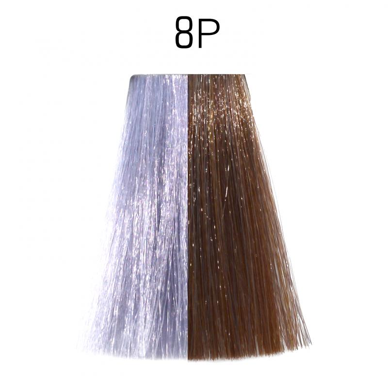 8P (светлый блондин жемчужный) фиолетовый Тонирующая крем-краска для волос без аммиака Matrix Color Sync,90 ml