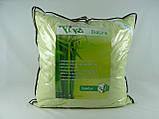 "Подушка 68х68 микрофибра зеленая ""Бамбук"", фото 3"