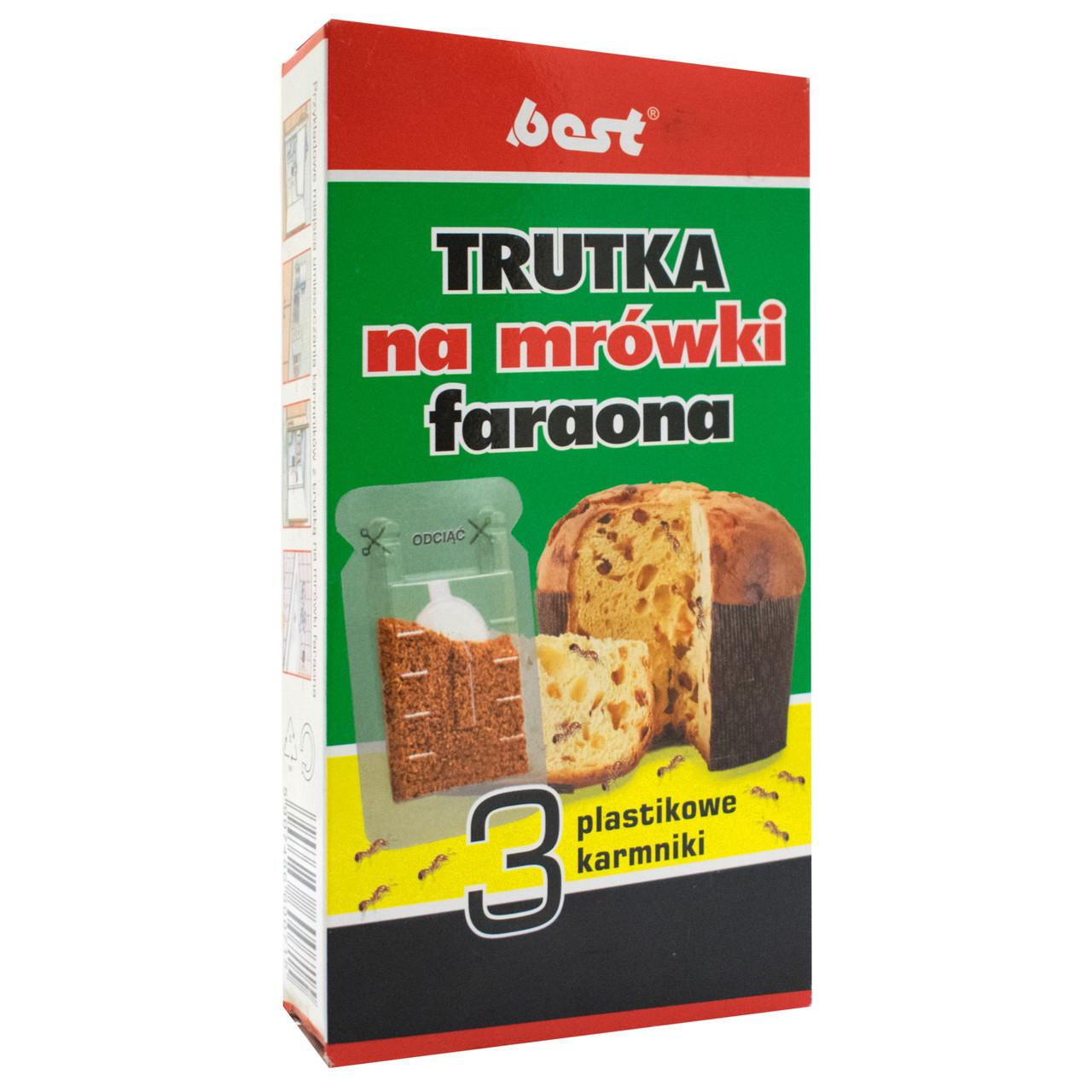 Ловушки для муравьев Trutka na mrowki faraona 3x2.5 г Best Pest