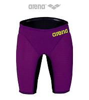 Гидрошорты мужские стартовые Arena Powerskin Carbon Air (Plum/Fluo Yellow)