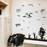Интерьерная наклейка Хеллоуин Праздник SK9220 60х90см, фото 3