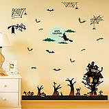 Интерьерная наклейка Хеллоуин Праздник SK9220 60х90см, фото 4
