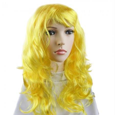 Парик Волнистый (желтый) 979801132