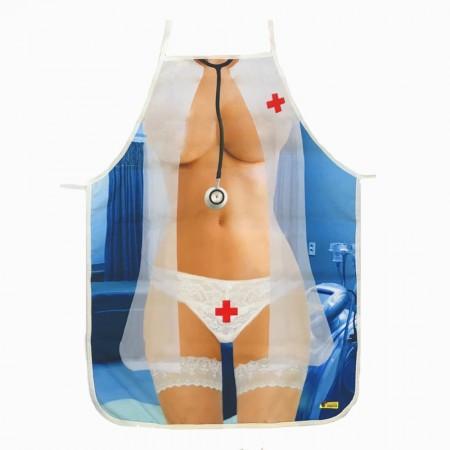 Фартук с приколом Медсестра в подарочной коробке