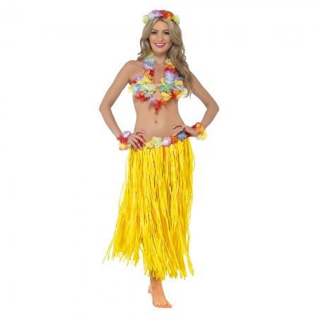 Карнавальный костюм Гавайский (желтый)