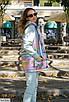 Женский костюм-тройка худи брюки жилетка, размеры 42-44, 44-46, фото 4