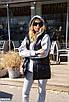 Женский костюм-тройка худи брюки жилетка, размеры 42-44, 44-46, фото 5