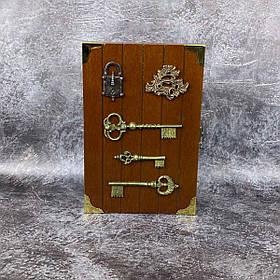 Ключница деревянная KL-001