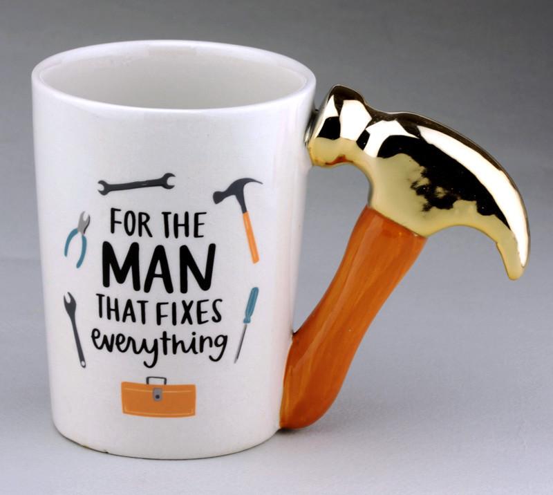 Чашка ET с молотком For the Man (JL19-8)