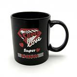 Чашка Super (черная), фото 6