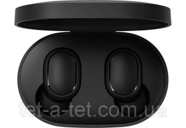 Бездротові Bluetooth-навушники Xiaomi Mi True Wireless Redmi Airdots 2 Black