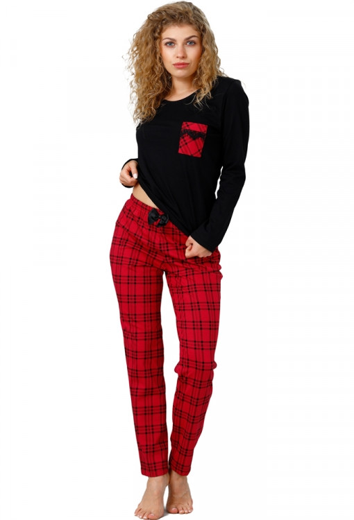 Стильная женская пижама M-Max Vivian 966
