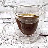 Чашка с двойными стенками Сердце 180 ml, фото 3