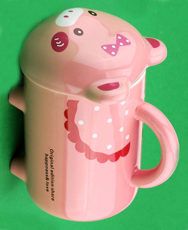 Чашка с ножками Свинка