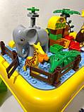 Конструктор-столик Зоопарк 3688A аналог Lego Duplo, фото 5