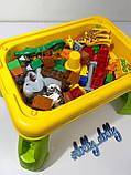Конструктор-столик Зоопарк 3688A аналог Lego Duplo, фото 7