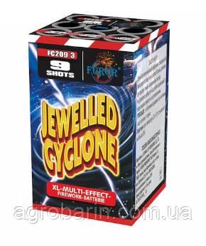 Салютная установка Jewelled Cyclone FC209-3