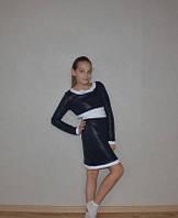 Модное платье для девочки. Стеганное!