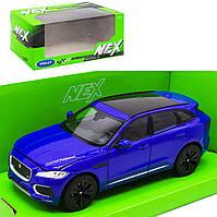 """Машинка металлическая """"Jaguar F-Pace"""", синяя"""