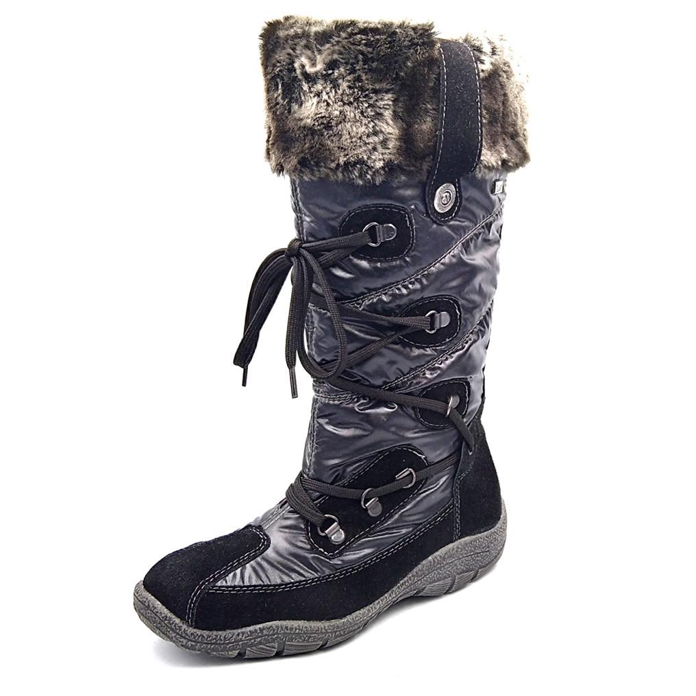 Зимние детские ботинки Reiker К1274-01, черные, р. 33