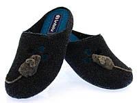 Женские фетровые тапочки Inblu синяя мышка