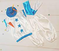 Новогодний костюм Снеговика 5-7 лет.