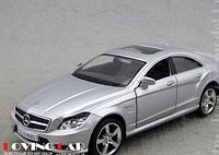Машина металл Mercedes-benz CLS-klass 1:36 Серый