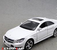 Машина металл Mercedes-benz CLS-klass 1:36 Белый