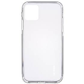 "TPU чехол GETMAN Clear 1,0 mm для Apple iPhone 12 Pro Max (6.7"")"
