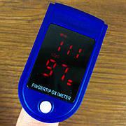 Пульсоксиметр AB-88 оксиметр на палец напалечный портативный прибор для измерения сатурации пульсометр