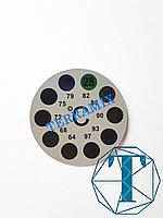Термометр наружный круглый (наклейка)