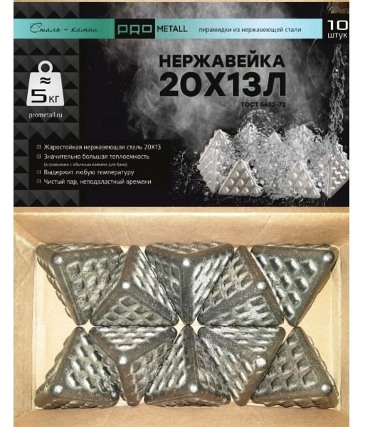 Пирамидки из нержавеющей  стали  ПроМеталл .