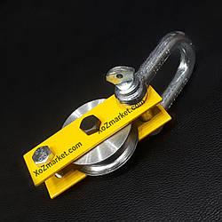 Блок монтажный Ø 70 мм ➡️ Нагрузка 600 кг ➡️ Блок с подшипником для подъема грузов ➡️ РОЗНИЦА