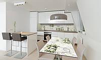 Наклейка 3Д виниловая на стол Zatarga «Винтажные розы» 650х1200 мм для домов, квартир, столов, кофейн,, фото 1