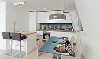 Наклейка 3Д виниловая на стол Zatarga «Турецкие Кувшины» 600х1200 мм для домов, квартир, столов, , фото 1
