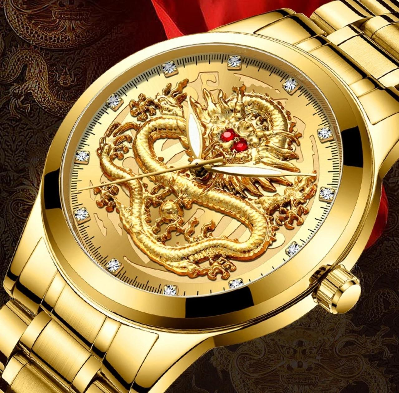 Часы мужские дракон